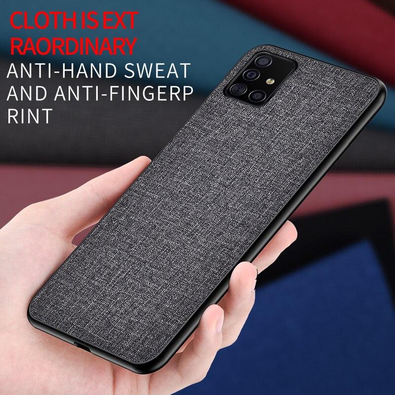 Pour xiaomi redmi note 8 Pro étui de luxe peau douce Silicone bord tissu couverture arrière étui de protection pour xiaomi redmi note 8 note8