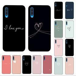 LVTLV-funda de teléfono con carcasa blanda para Samsung, carcasa de protección para teléfono móvil Samsung A6 30s A50 70 10 40 51 20 71 30 20s A7 8 2018