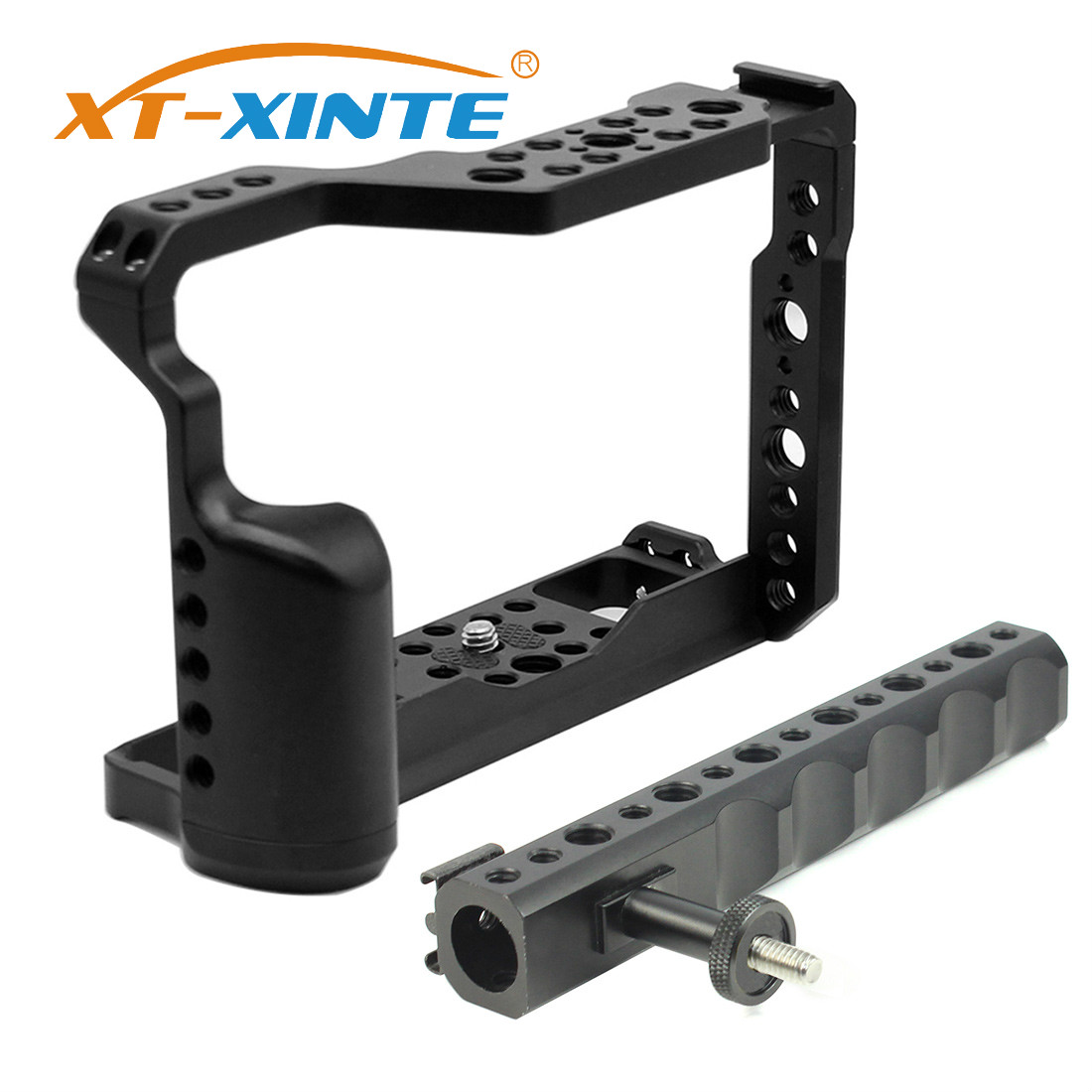 Aluminum Camera Cage With Top Handle For Fujifilm X-T3 /XT3 /XT2 /X-T2 DSLR Photography Light Video Rig Protective Case