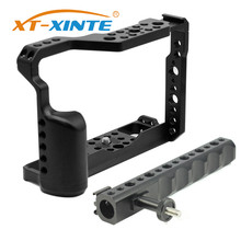 Aluminum Camera Cage with Top Handle for Fujifilm X T3 /XT3 /XT2 /X T2 DSLR Photography Light Video Rig Protective Case