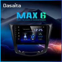"Dasaita samochodowe multimedia Android 9.0 dla Nissan x-trail Qashqai j11 j10 Radio 2014 2015 2016 2017 2018 2019 GPS 10.2 ""ekran IPS"