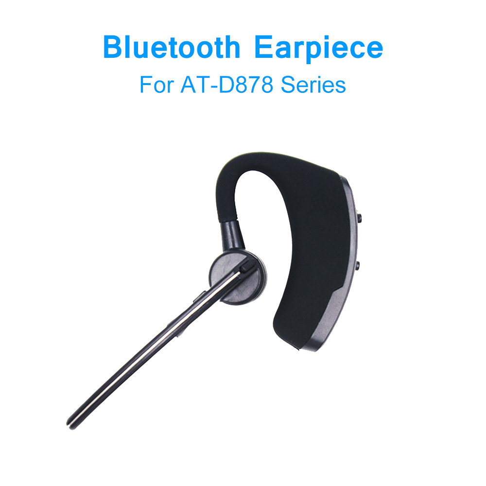 Bluetooth Earpiece Walke Talkie Earphone For Anytone DMR Radio AT-D878UV Plus Series