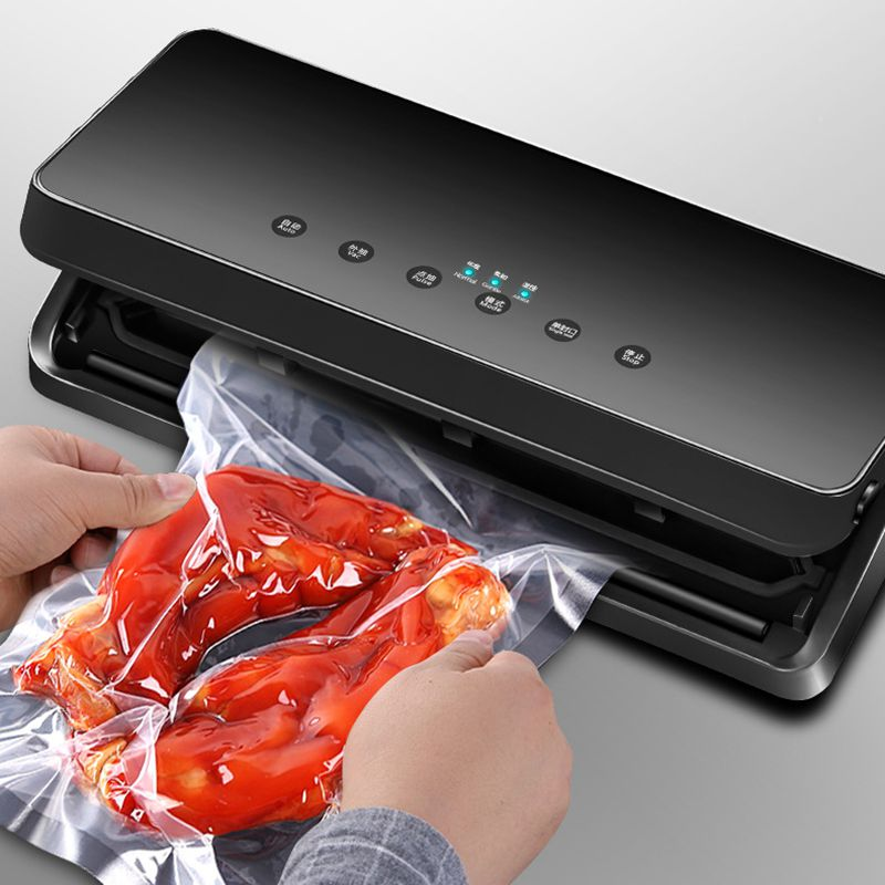Upgraded Electric Vacuum Sealer Machine 220V 110V With Dry Wet Food Saver Bags Household Automatic Food Vacuum Packing Machine