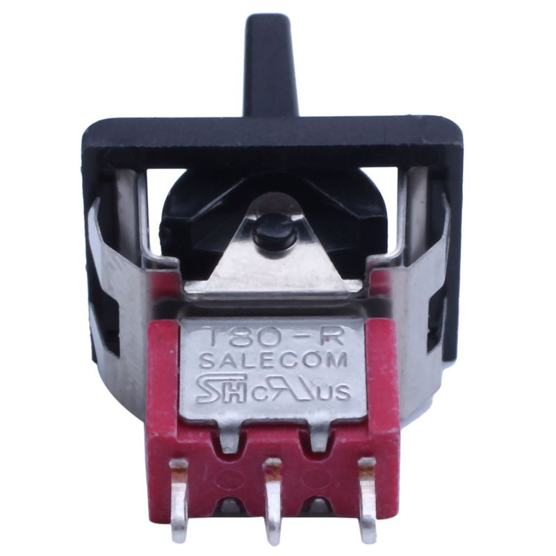 H429482b3bfcd4d888cfe7d1b04e99642y - AC 250V/3A 125V/5A Momentary SPDT 3 Positions Toggle Switch T80-R