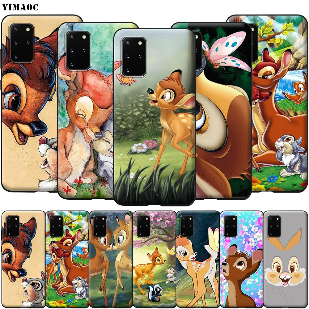 YIMAOC Thumper Bambi Soft Silicone Case for Samsung Galaxy S6 S7 S10e Edge S8 S9 Plus A3 A5 A6 A7 A8 A9 J6 Note 8 9 2018 image