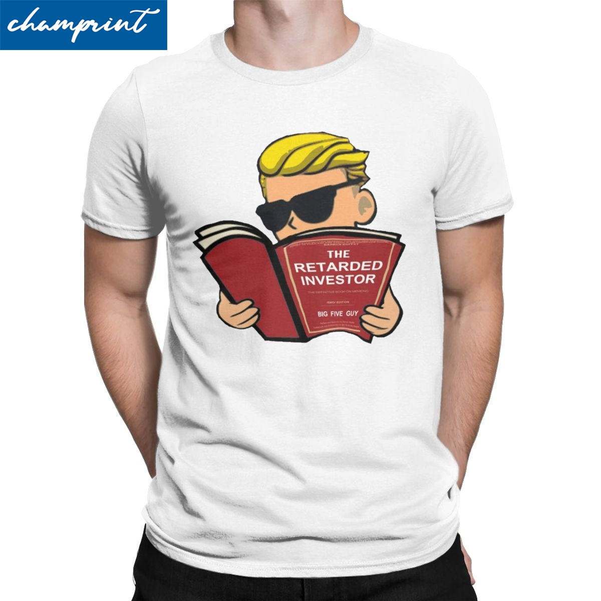 Wall Street Bets T Shirt Men Vintage T-Shirt Dogecoin Bitcoin Cryptocurrency Hodl Blockchain Tee Shirt Plus Size Clothing 1