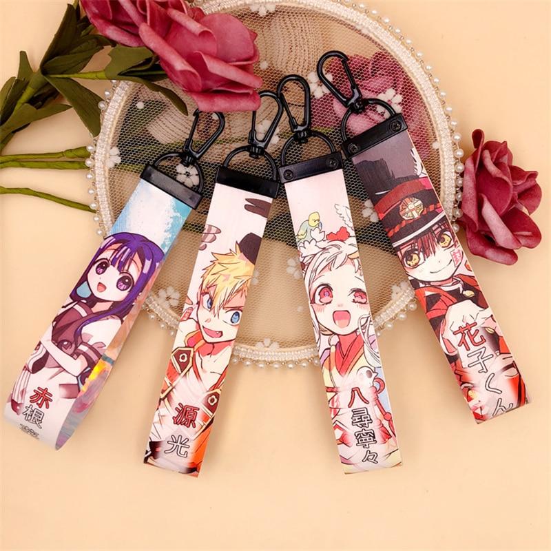 Toilet-Bound Hanako-kun Cosplay Keychain Backpack Charm Yugi Amane Nene Yashiro PVC Pendant Bag Accessories Props
