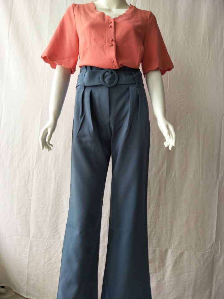 Women Pants 2019 Autumn High Waist Women's Casual Pants