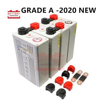 4 Uds 3,2 v 100ah Lifepo4 batería 12v100AH baterías de células de fosfato de hierro de litio nuevo CALB ca100 plástico para solar RV paquete a 24V