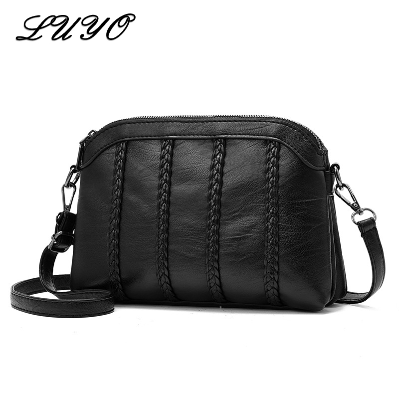 2019 Small Luxury Purses And Handbags Women Messenger Leather Crossbody Bags For Female Designer Shoulder Bag Bolsas Feminina