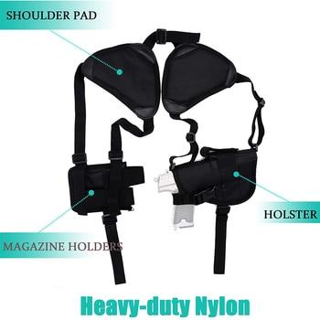 Tactical Gun Holster Universal Left Right Hand Pistol Gun Carry Pouch Concealed Shoulder Holster For Glock 17 19 Gun Accessories 4