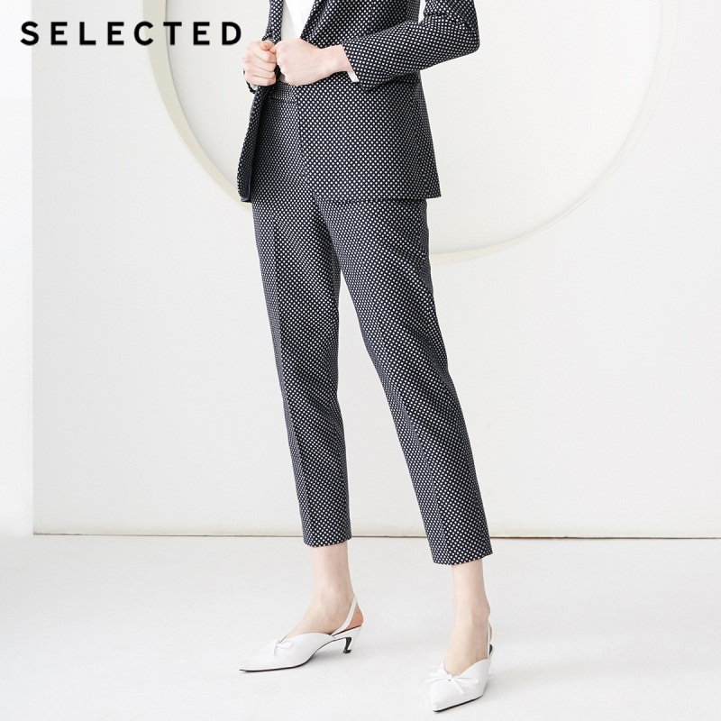 SELECTED Women's 2019 Woven Crop Suit Pants S|419118512