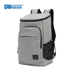 DENUONISS новая 30L сумка-холодильник 35 банок 100% Герметичный Рюкзак-холодильник 600D Оксфорд Водонепроницаемая термоизолированная сумка