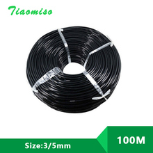 3/5mm 20M 50M 100M Hose Garden Micro Irrigation Hose Plant Watering Pots Drip Irrigation Sprinkler Connector Tube New Hose стоимость