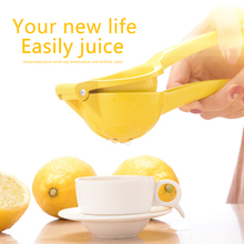 Lemon orange citrus juicer household multi-functional portable kitchen fresh press manual yellow quick handle