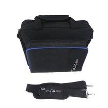 Черная сумка для sony Playstation 4 ps4 сумка для хранения игр сумки большой емкости нейлон портативный bolsa de viagem дропшиппинг
