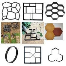 Concrete Molds Path Maker Mold DIY Reusable Concrete Paving Mold Cement Brick Mold Stone Garden Floor Road Garden Path Maker