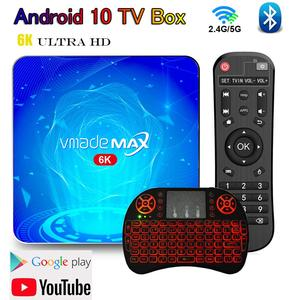 T2 smart android caixa de tv receptor 4g 32g 64g 6k hd bluetooth wifi conjunto rápido caixa superior android 10 suporte google store youtube mídia