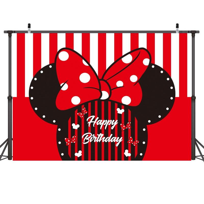 210x150 см фоны для вечеринки с Микки Маусом фон с Микки Маус ткань для стены украшение для вечеринки на день рождения студийная фотография