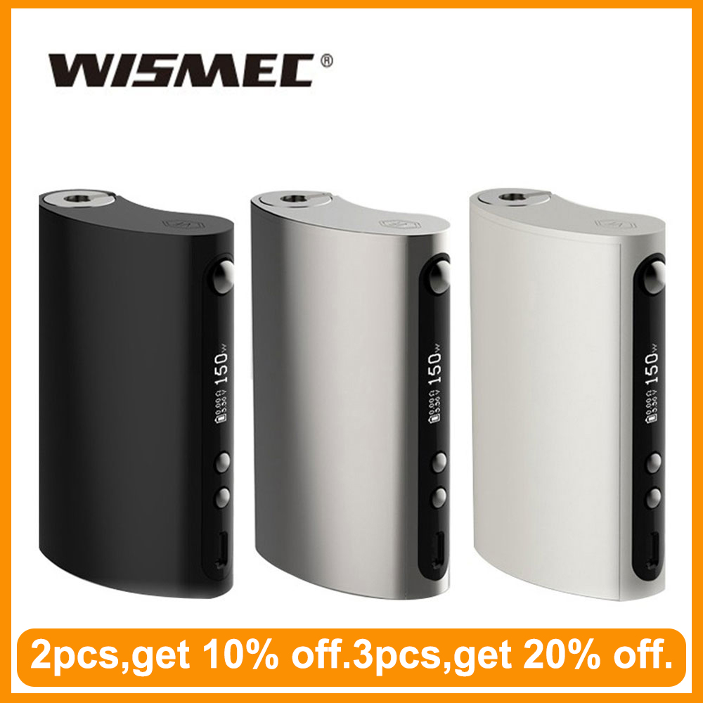 [RU/ES] Original Wismec Vape Forward VaporFlask Classic Box Mod Output 150W TC/VW Mode VS Voopoo Drag 2 Vape Mod E-Cigarette