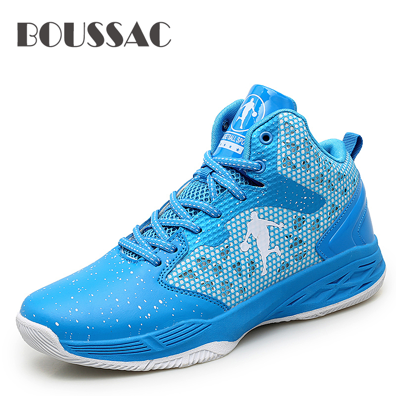 BOUSSAC Man's Basketball Shoes Woman's Comfortable High Top Training Boots Ankle Boots Outdoor Men Sneakers Athletic Sport shoes
