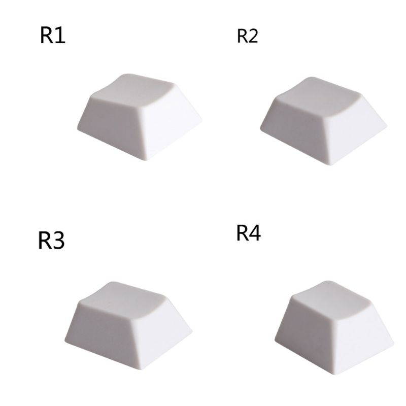 1PC DIY PBT Keyboard Keycaps R1 R2 R3 R4 Profile Keycaps For Mechanical Keyboard
