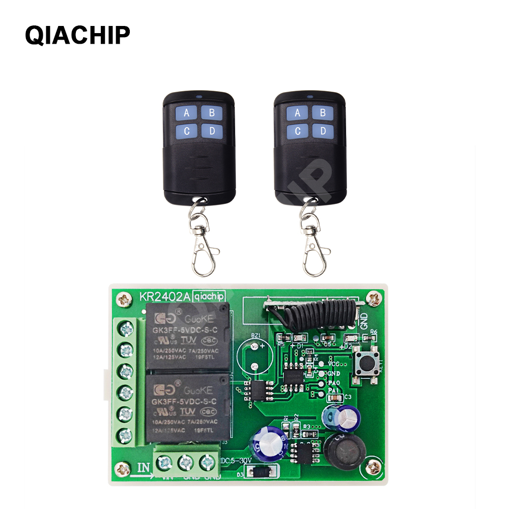 433MHZ 1CH DC 6V Wireless Remote Control Switch Relay Controller Module