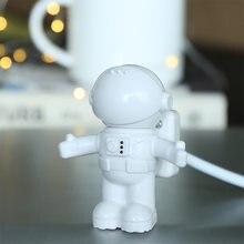Астронавт светодиодный Ночной светильник белый гибкая usb трубки
