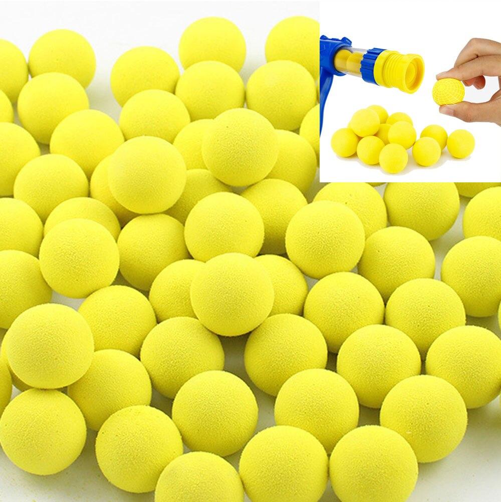 Eva bala macia para arma de tiro a ar alimentado ao ar livre crianças interativo aerodinâmica arma desktop indoor shoot game para crianças