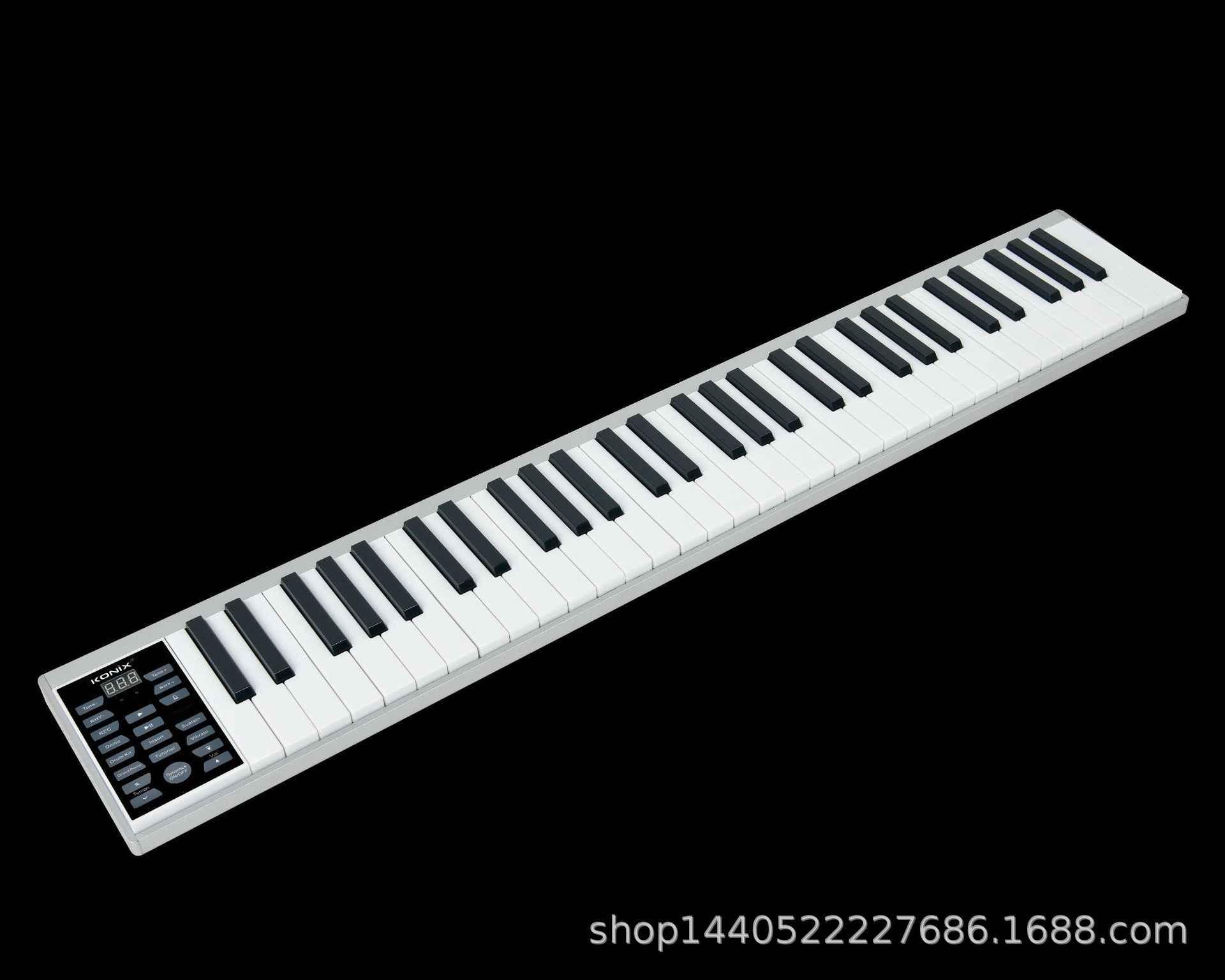 2020 nowy inteligentny 61 klawiszy fortepianu podręcznik teclado muzyczne przenośne pianino elektroniczne zawodowe dorosłych klawiatura Midi ładowania