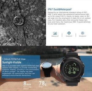 Image 5 - חדש Zeblaze VIBE 3 דגל מחוספס Smartwatch 33 חודש המתנה זמן 24h כל מזג האוויר ניטור חכם שעון עבור IOS אנדרואיד שעון