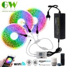 WiFi LED Strip Light RGB 5050 SMD Flexible Neon Ribbon DC12V