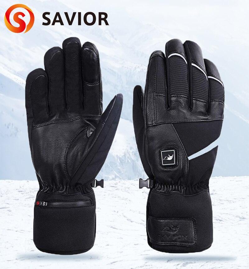 Спаситель тепла 2020 от двух до восьми лет зимние теплые с подогревом перчатки для мужчин и женщин электрический Батарея Перезаряжаемые для к...