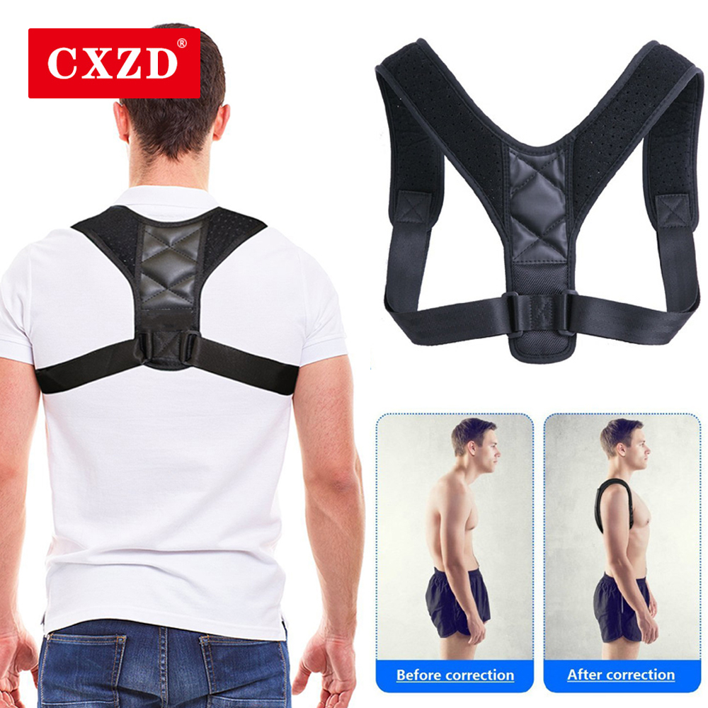 CXZD Medical Clavicle Posture Corrector Back Posture Corrector Support Belt Corset Orthopedic Brace Shoulder Correct For Men