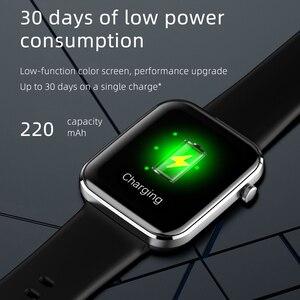 Image 4 - Chycetスマート腕時計男性女性心拍数血圧フィットネストラッカー時計音楽コントロールスポーツスマートウォッチandroid ios 2021