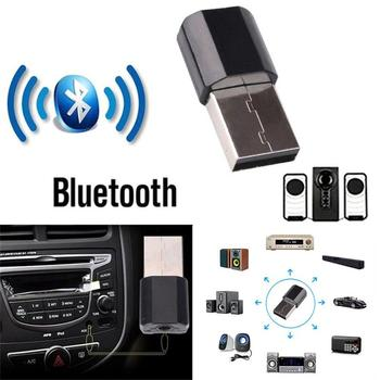 Bluetooth 3.0 AUX Car Receiver 3.0 Adapter 3.5mm Jack Audio Transmitter Phone Call AUX Music Receiver For Home TV image