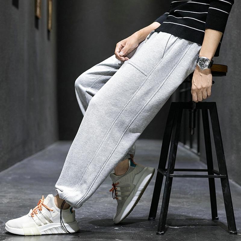 Men Sports Pants Trousers Hip Hop Jogging Joggers Sweatpants Jogger Pants Men's Harem Pencil Pants Sports Casual Sweatpants Haro
