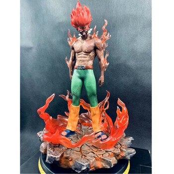 30CM Anime NARUTO Might Guy Taijyutsu Night Kay Christmas Gift PVC Action Model Collectible Large Statue Toy Free Shipping G605