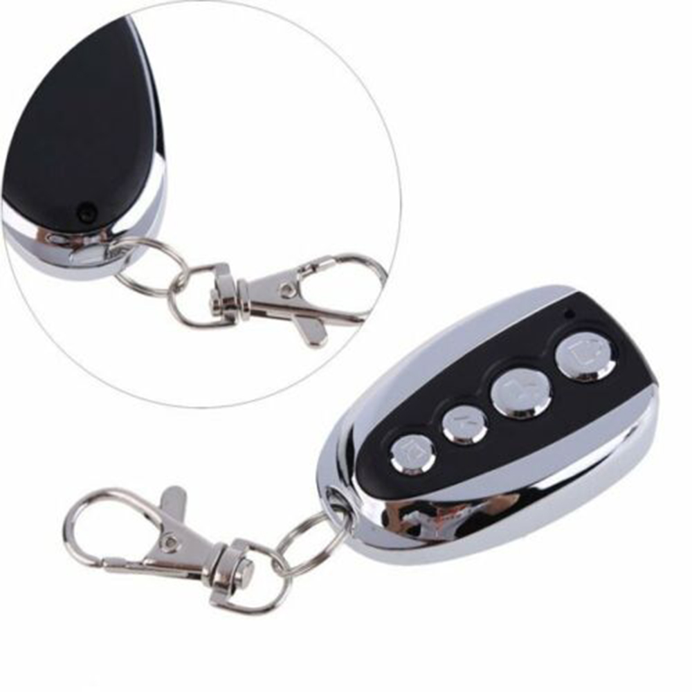 Universal Home Security Remote Control 433mhz Keys Fob Gadget Electric Cloning For Gate Garage Door Motorcycles Car Anti-theft