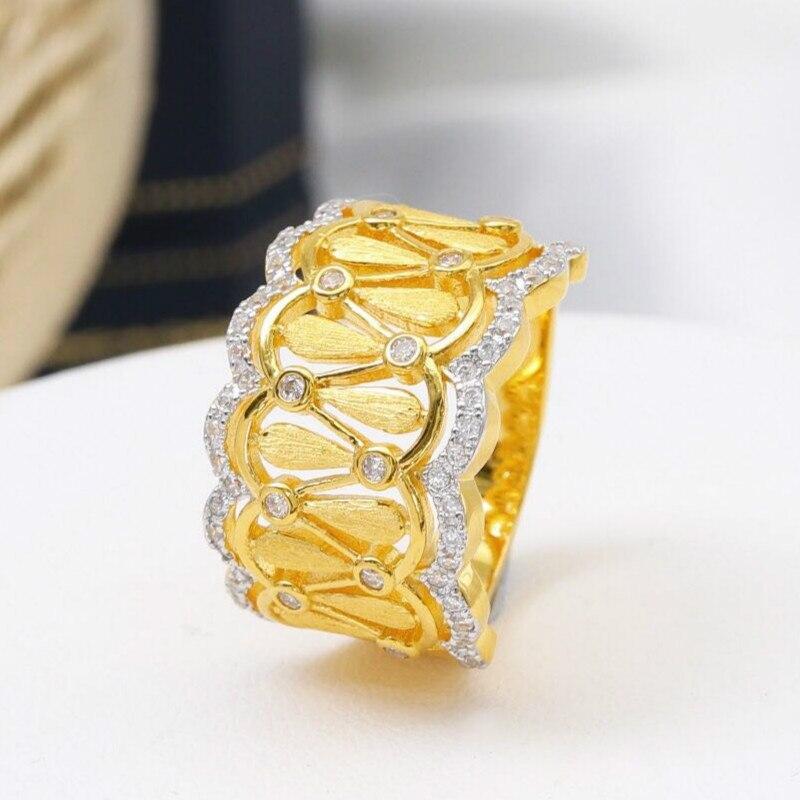Женские винтажные кольца CMajor, Серебряное украшение из стерлингового серебра S925 пробы, двухцветные Помолвочные кольца без минимального зак