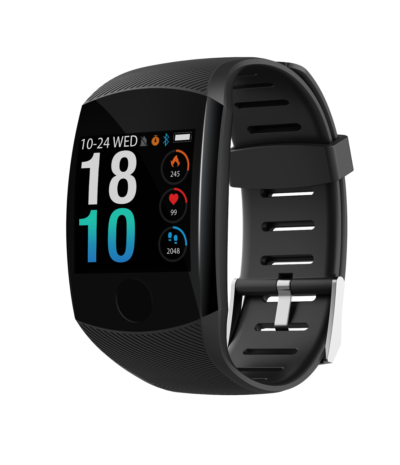 RGTOPONE Hot Q11 Smart Watch Waterproof Heart Rate Time Smart band Fitness Activity Tracker Fitness Bracelet Wristband