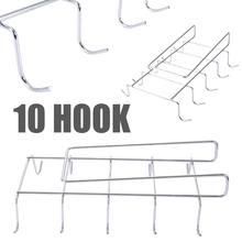 1 шт 10 крючков подвешиваемый держатель для чашки кухонный хранения