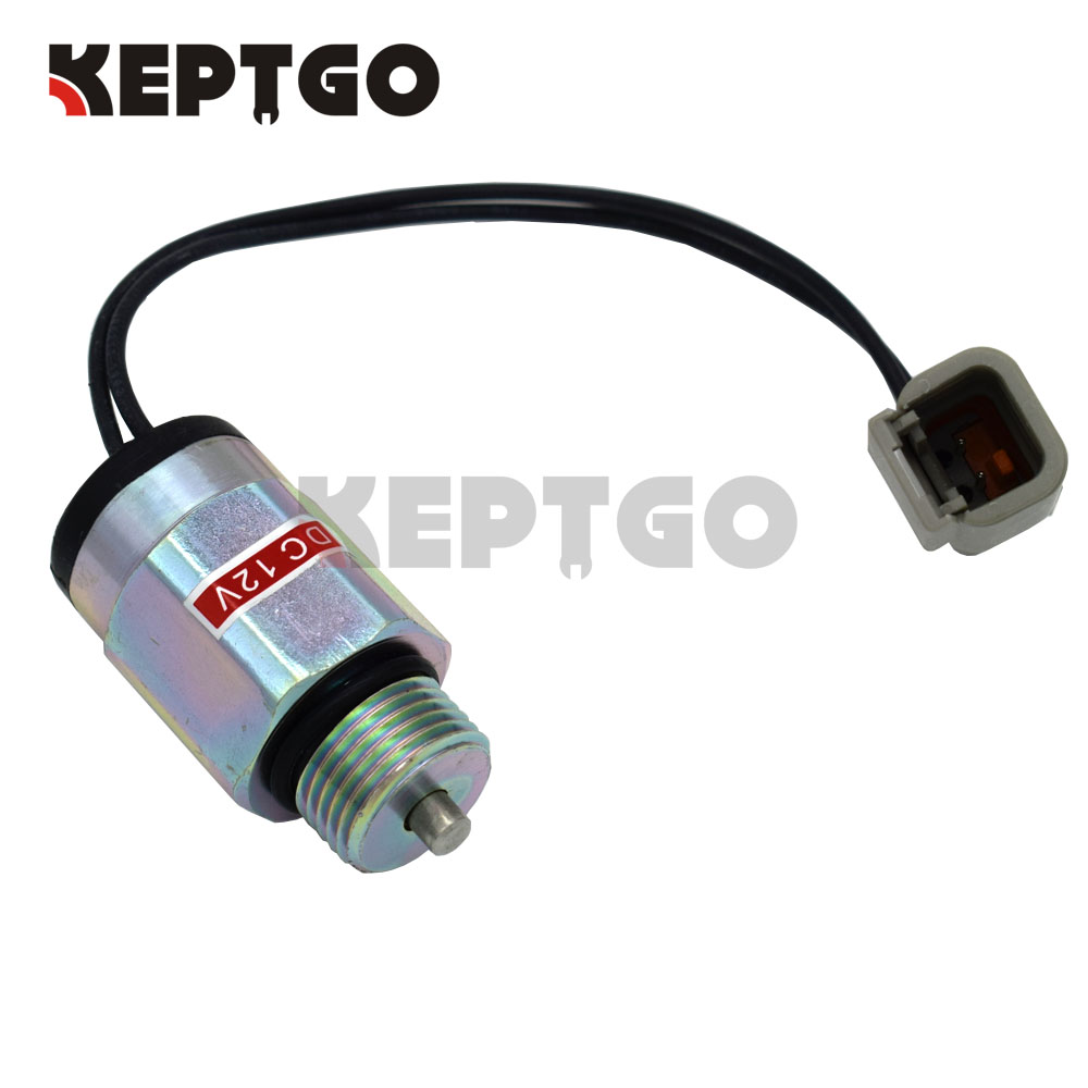 12V Fuel Solenoid For Bobcat Loaders S130 S150 S160 S175 S185 S205 S220 S250 S300 S330(China)
