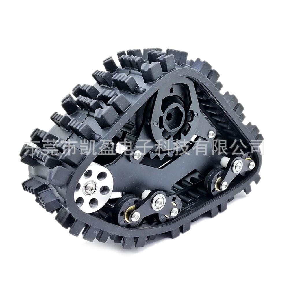 rcaidong 1//10 RC TRX4 Tracks Wheel Sandmobile Conversion Snow Tire for Traxxas Trx4 TRX-4