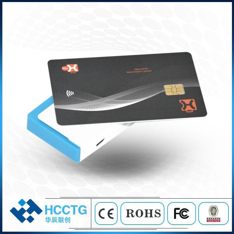 Lecteur de carte de crédit Mobile EMV Bluetooth trois-en-un NFC + RFID + IC + lecteur de carte Mobile magnétique Mifare pour Android IOS MPR110 - 4