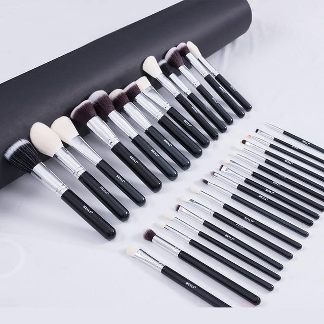 BEILI Black Makeup brushes set Professional Natural goat hair brushes Foundation Powder Contour Eyeshadow make up brushes 2