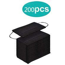 Mascarilla desechable de 3 capas, tapabocas grueso antipolvo, tela no tejida, filtro de seguridad, 200 unidades