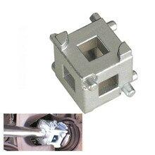 """Universalรถเบรคลูกสูบเครื่องมือCaliperลูกสูบRewind/Wind Cubeเครื่องมือ3/8 """"Caliperปรับตรวจสอบรถยนต์เครื่องมือ"""