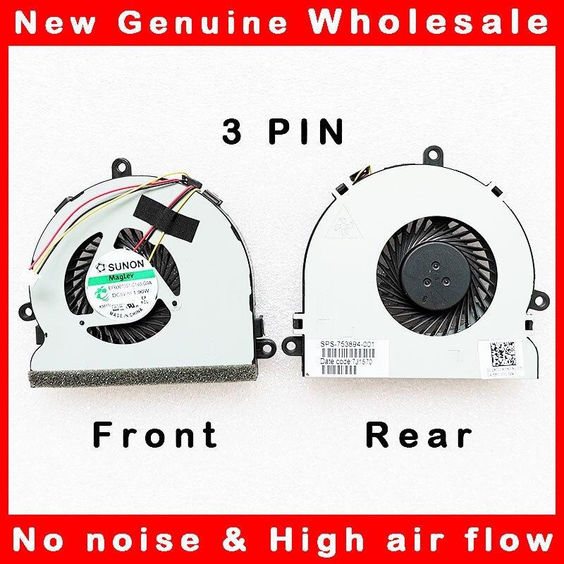 Вентилятор охлаждения процессора ноутбука radaitor для Dell Inspiron 15 15R 17 17R 3521 3721 5521 5535 DC28000C8F0 74X7K