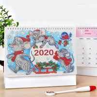 DIY дрель Xmas mouse 2020 календарь специальная форма алмазная живопись органайзер для программы домашний планировщик